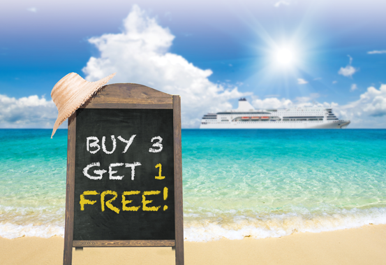 Buy 3, Get 1 Free': Optimal pricing and inventory control