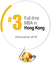 No. 2 Full-time MBA in Hong Kong