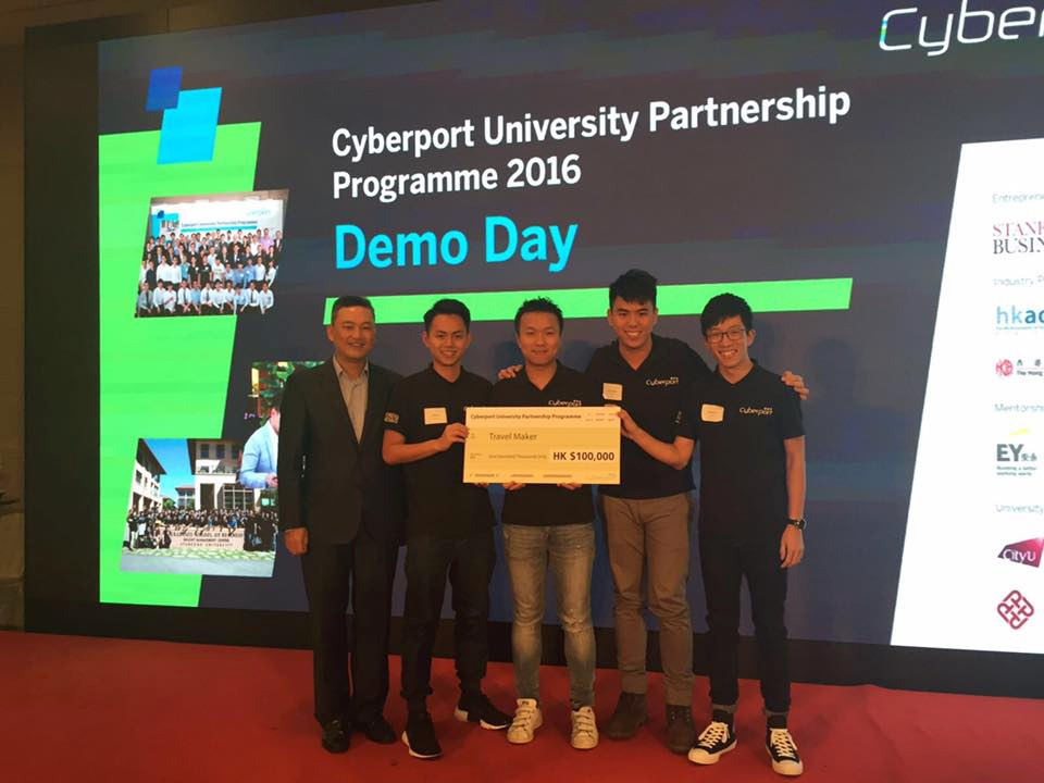 IFMG & CB students awarded Top 10 in Cyberport University Partnership Programme