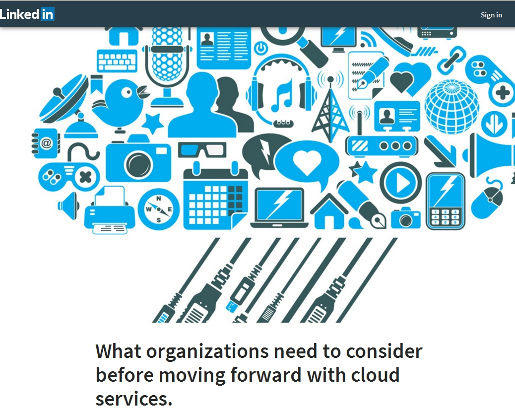 What organizations need to consider before moving forward with cloud services.