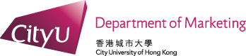 Department of Marketing, City University of Hong Kong
