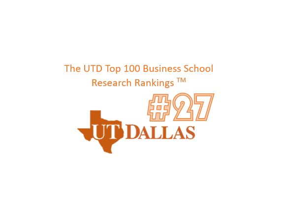 CB ranked #27 by UTD for 2019