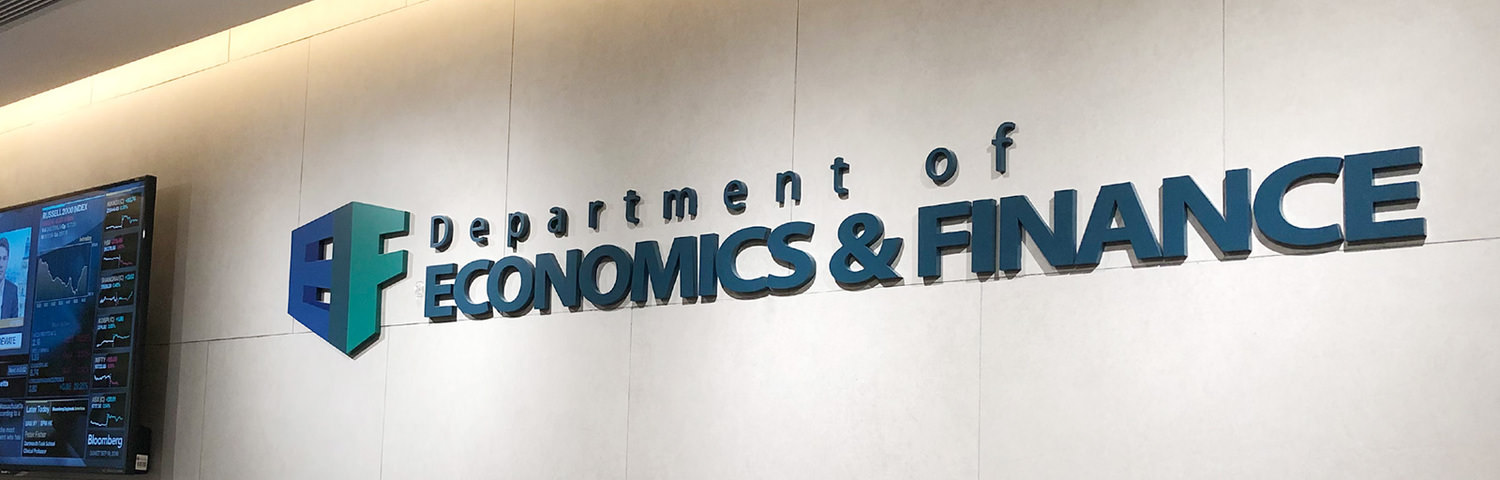 Visit Department of Economics and Finance website